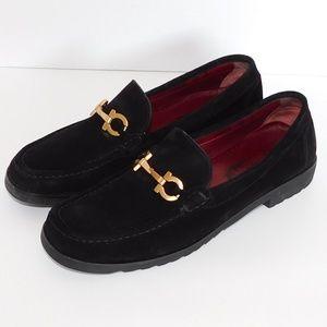 Beautiful Black Suede Leather Sport Italian Loafer